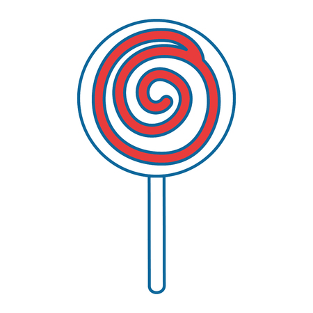 candy sweet isolated icon vector illustration design Stok Fotoğraf - 88261317