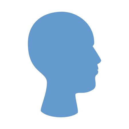 user profile silhouette avatar icon vector illustration design