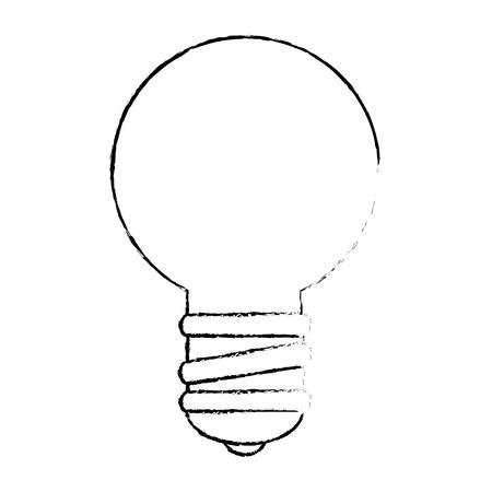 電球のアイコン ベクトル イラスト デザインを分離しました。  イラスト・ベクター素材