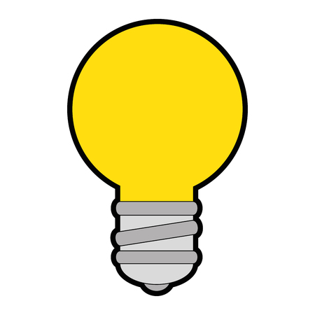 Bulb light isolated icon vector illustration design.