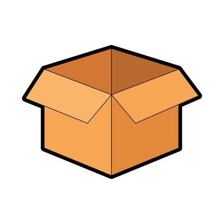 ボックス箱はアイコン ベクトル イラスト デザインを分離しました。  イラスト・ベクター素材
