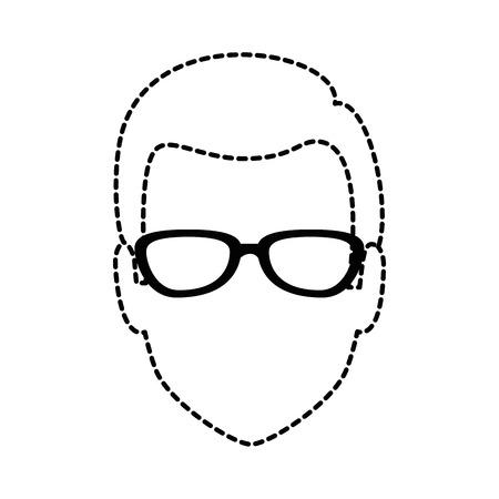 젊은이 머리 아바타 캐릭터 벡터 일러스트 디자인 스톡 콘텐츠 - 88426148
