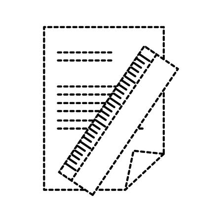 紙文書規則ベクトル イラスト デザインに。  イラスト・ベクター素材