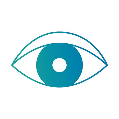 Eye human isolated icon vector illustration design. Illustration