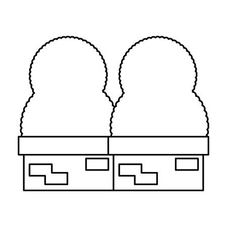 garden construction icon vector illustration design 向量圖像