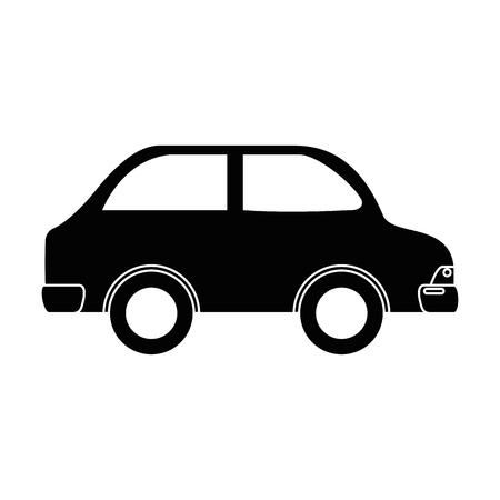 車車両分離アイコンベクトルイラストデザイン