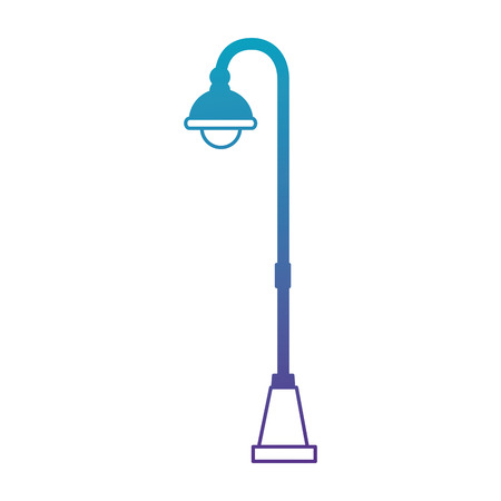 park lantern isolated icon vector illustration design