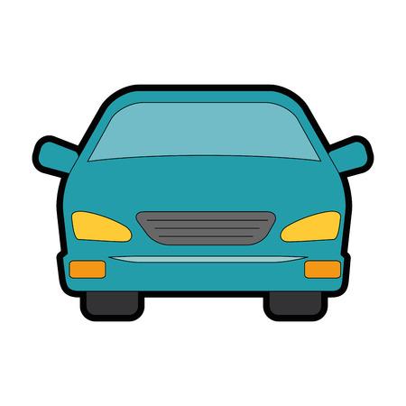 車車両分離アイコン ベクトル イラスト デザイン  イラスト・ベクター素材