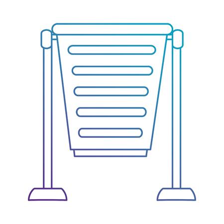 공원 쓰레기통 아이콘 벡터 일러스트 디자인 수 일러스트