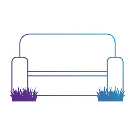 home couch isolated icon vector illustration design Illustration