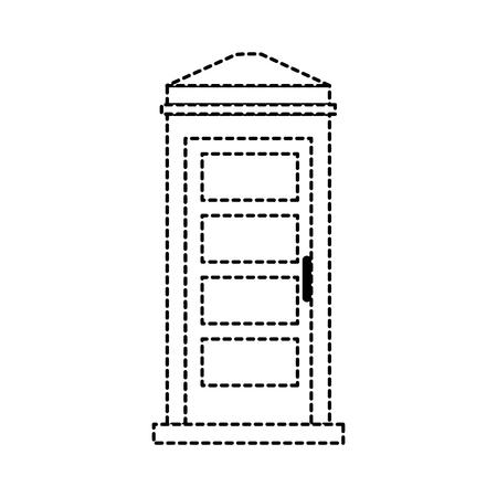 Telefooncel geïsoleerde pictogram vector illustratie ontwerp Stockfoto - 88415122