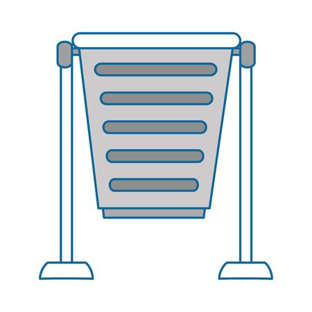 park trash can icon vector illustration design Stock Vector - 88452717