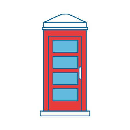 telefooncel geïsoleerde pictogram vector illustratie ontwerp Stock Illustratie