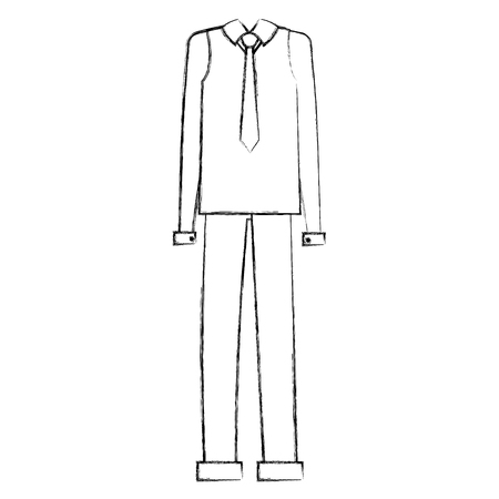 elegant grandfather costume icon vector illustration design Illustration