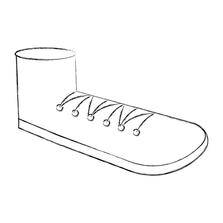 schoen grootvader geïsoleerd pictogram vectorillustratieontwerp