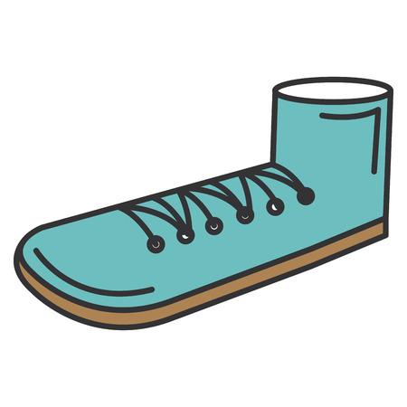 Schuh Großvater isoliert Symbol Vektor-Illustration , Design , Standard-Bild - 88416857