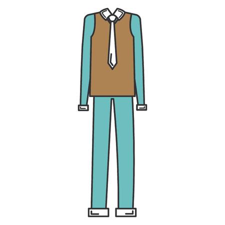 elegant grandfather costume icon vector illustration design Ilustracja