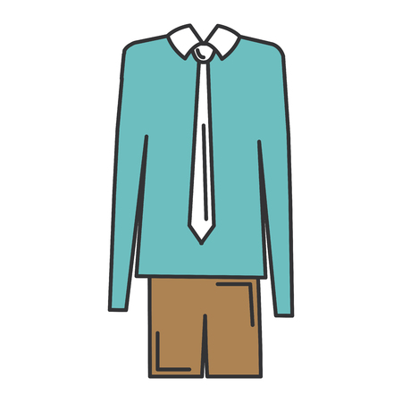 elegant grandfather costume icon vector illustration design Ilustração