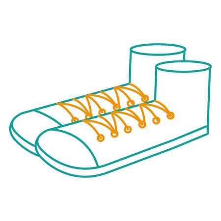 Schuh Großvater isoliert Symbol Vektor-Illustration , Design , Standard-Bild - 88417373