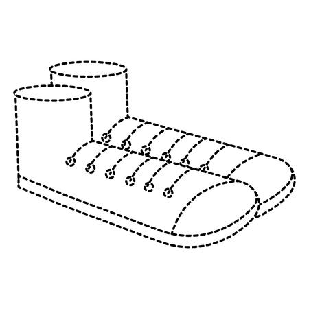 Schuh Großvater isoliert Symbol Vektor-Illustration , Design , Standard-Bild - 88418242
