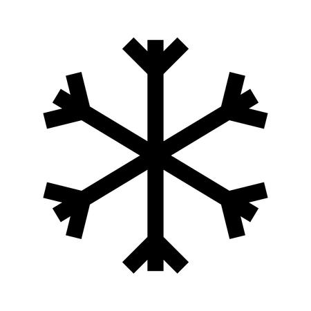 クリスマス雪の結晶雪装飾冬シンボル ベクトル イラスト  イラスト・ベクター素材