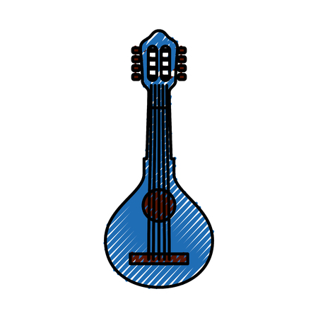Guitar classical instrument.