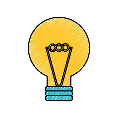 creativity idea bulb knowledge solution concept vector illustration Stock Vector - 88433546