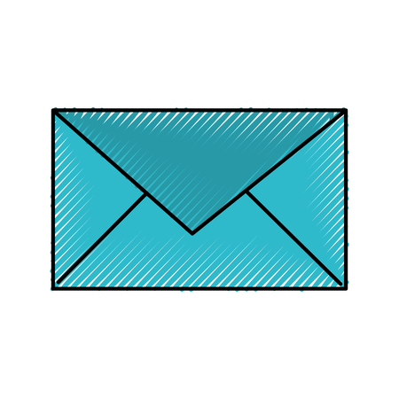 email envelope message communication close vector illustration