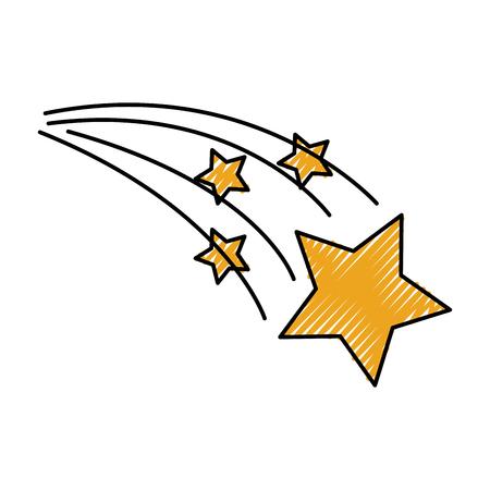 astrologie ster helder universum ruimte vector illustratie Vector Illustratie