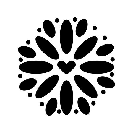 メキシコの装飾花お祝いお祝いベクトル図