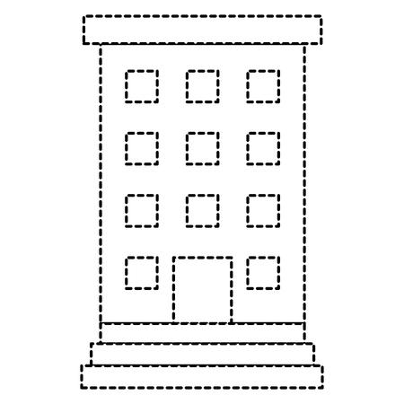 Krankenhausgebäude isoliert Symbol Vektor-Illustration , Design , Standard-Bild - 88432468