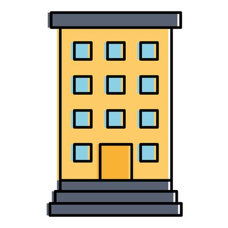 hospital building isolated icon vector illustration design Ilustração