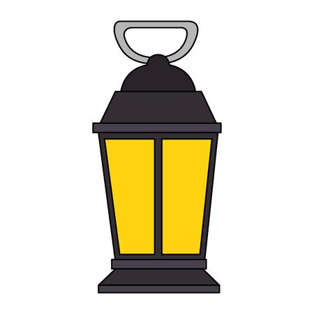 Mine Laterne isoliert Symbol Vektor-Illustration , Design , Standard-Bild - 88435802