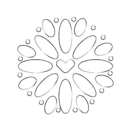 mexican decoration floral celebration festive vector illustration 向量圖像
