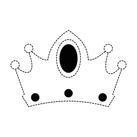 queen crown isolated icon vector illustration design Imagens - 88447695