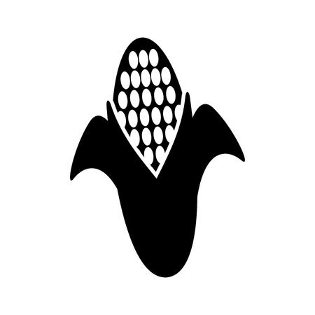 スイート コーン漫画祭シンボル ベクトル図  イラスト・ベクター素材
