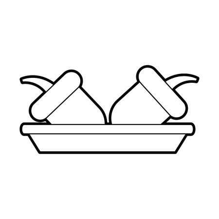 料理の秋のドングリ自然食品ナッツベクターイラスト  イラスト・ベクター素材