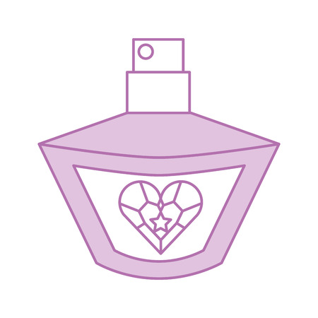 princess perfume  accessory bottle  beauty vector illustration Illusztráció