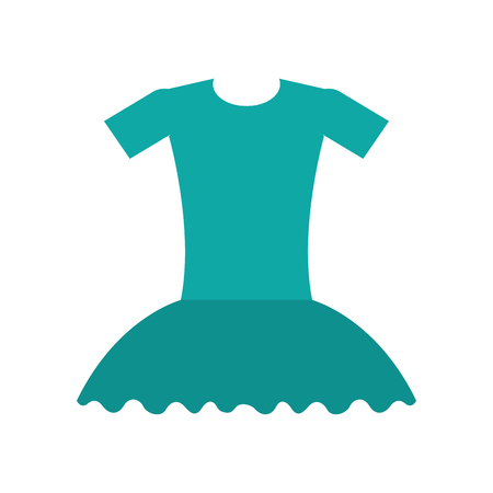 ballet jurk ballet jurk elegant kostuum vectorillustratie