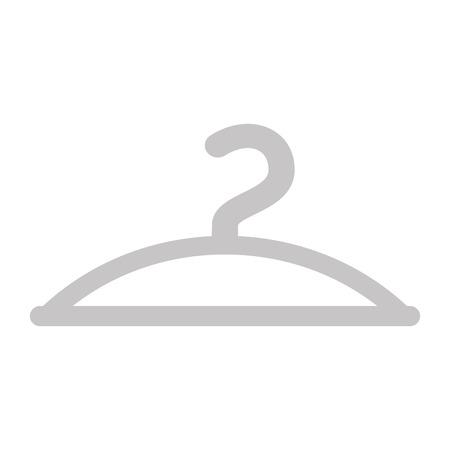 Gancho de roupa gancho moda vazia icon ilustração vetorial Foto de archivo - 88525386