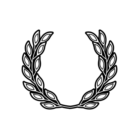 laurel decoration branch ornament image vector illustration 版權商用圖片 - 88547250