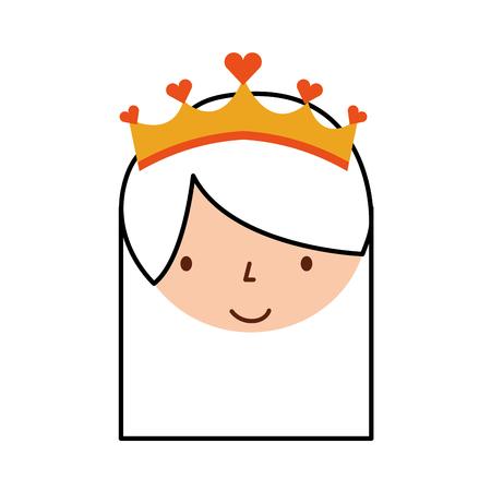 Cara linda ilustración de vector de personaje de dibujos animados de bailarina de niña pequeña Foto de archivo - 88537873