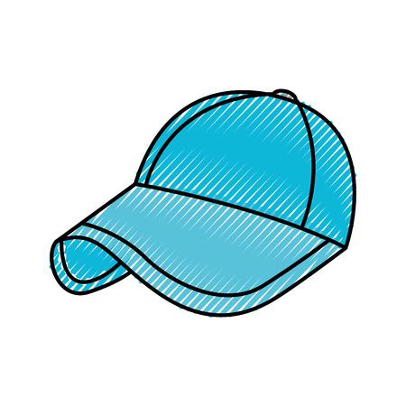 sport honkbal GLB mode-accessoire bescherming vectorillustratie Stock Illustratie