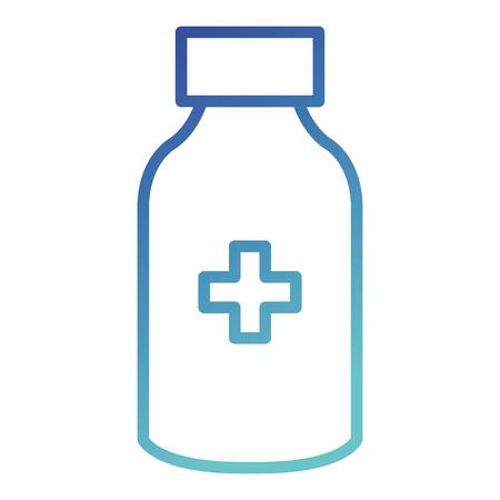 bottle drugs isolated icon vector illustration design Фото со стока - 88541273