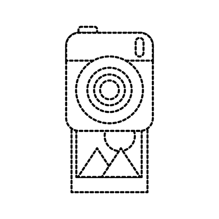 photo camera picture image design vector illustration