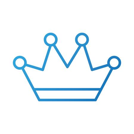 Kroon sierlijke juwelen Koninklijke fantasie afbeelding vectorillustratie Stockfoto - 88544025