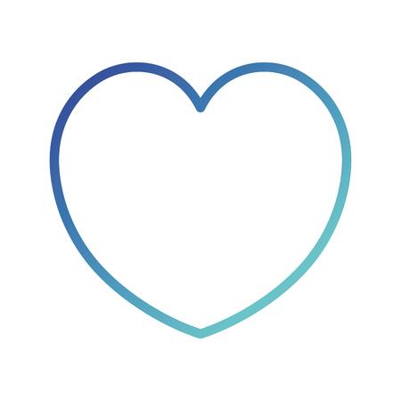 Cardiologie coeur isolé icône du design illustration vectorielle Banque d'images - 88544575