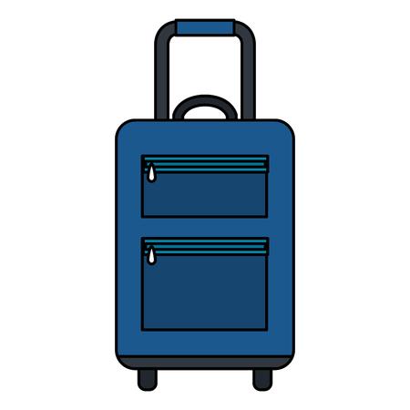 Voyage valise icône isolé design illustration vectorielle Banque d'images - 88544277