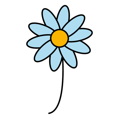 美しい花のアイコンベクトルイラストデザイン