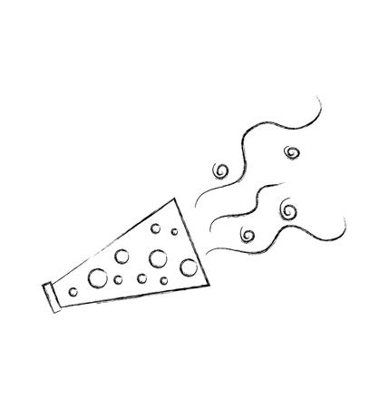 party horn blower confetti celebration birthday vector illustration 向量圖像